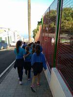 Ayer el Servicio Insular de Promoción del Bienestar Infantil estuvo en el CEIP Campino por partida