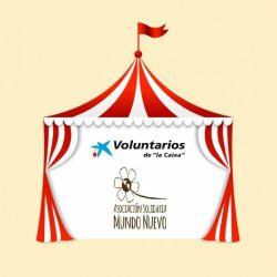 Tarde de circo con nuestos y nuestras adolescentes y los voluntarios de la Fundación la Caixa