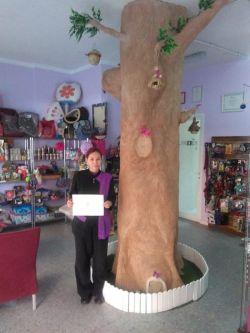 El Servicio Insular Especializado en Adolescentes, ha hecho entrega a  Animal Look  de un diploma en