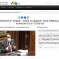 La Asociación Solidaria Mundo Nuevo en el Parlamento de Canarias